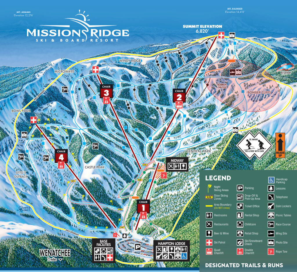 Mission Ridge Bomber Trail