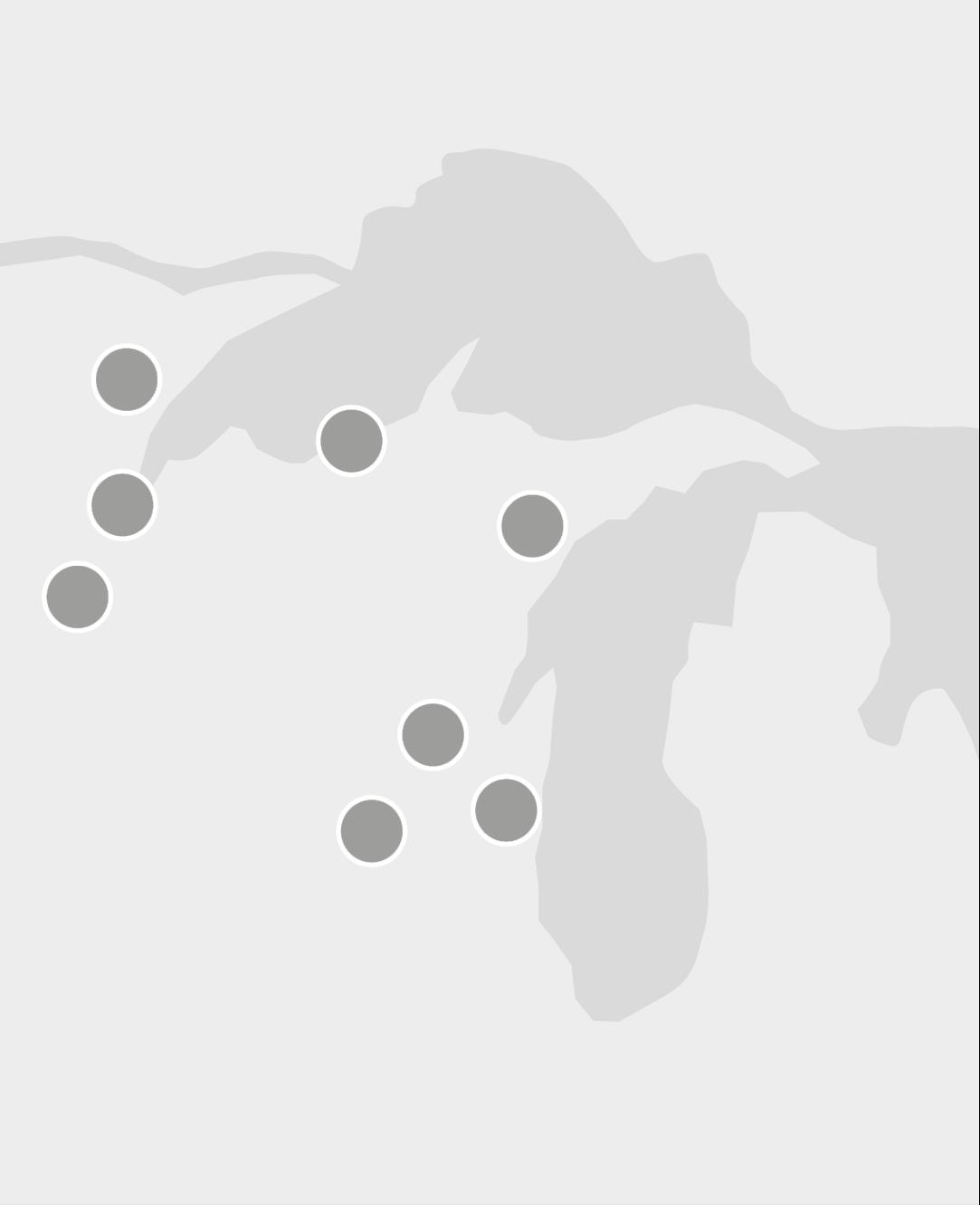 Midwestern Region Map