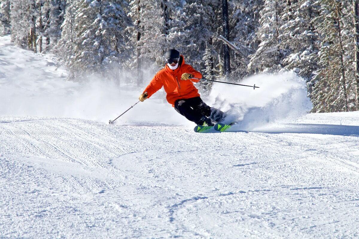 49 degrees north skier