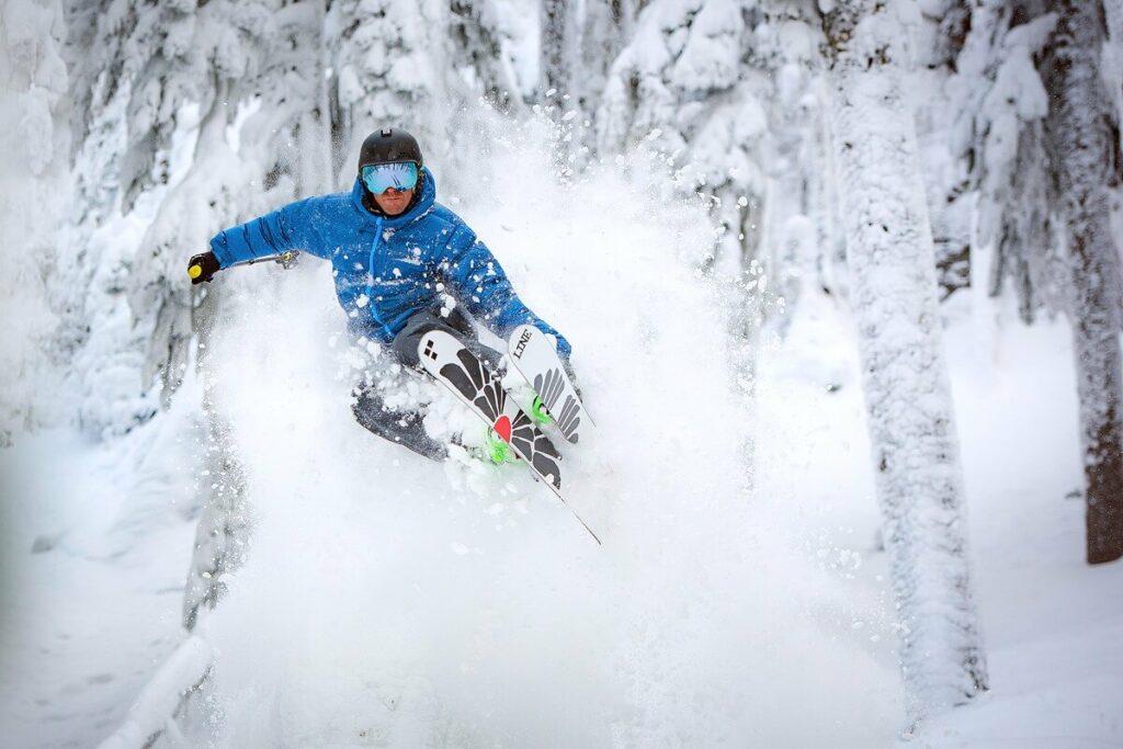White Pass skier