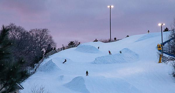 Buck Hill Ski & Snowboard Area - Terrain Hill Night skiing