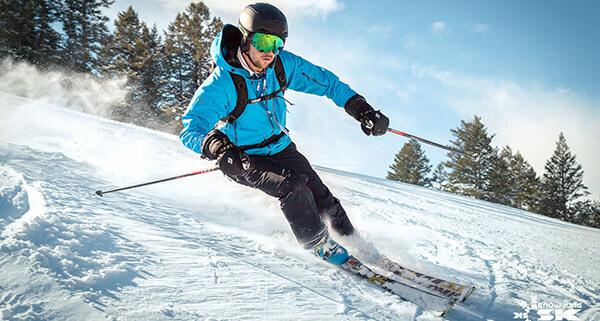 Snow King - Skier