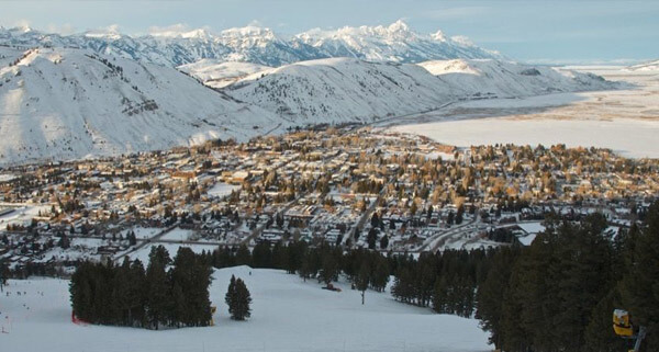 Snow King - View of Jackson, WY