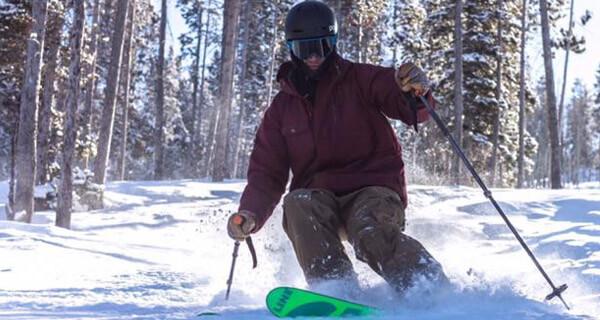 White Pine Ski Resort - Tree Skiing