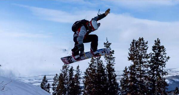 White Pine Ski Resort - Snowboarder
