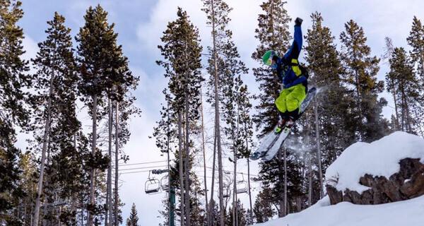 White Pine Ski Resort - Skier