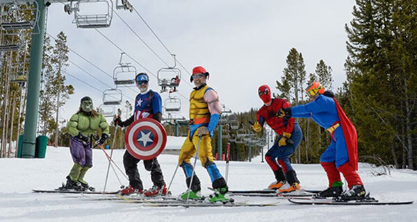 White Pine Ski Resort - Super Heroes