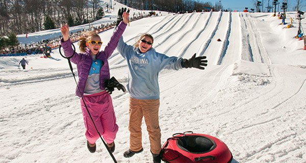 Winterplace Ski Resort - Tubing Fun