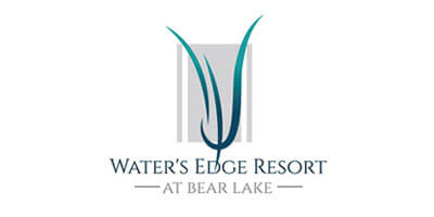 Waters Edge Resort at Bear Lake Logo
