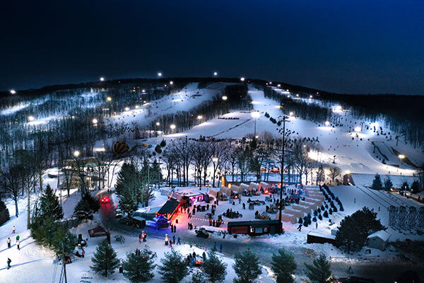 Montage Mountain - night skiing