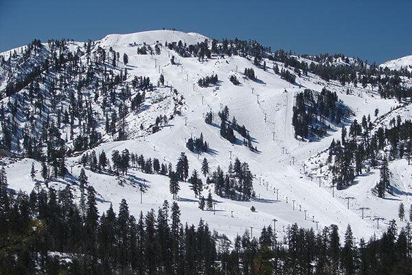 Snow Valley mountain