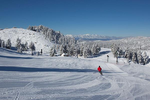 Snow Valley groomed run