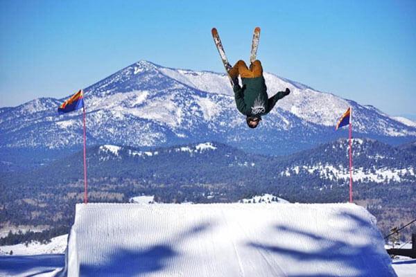 Snow Valley terrain jump