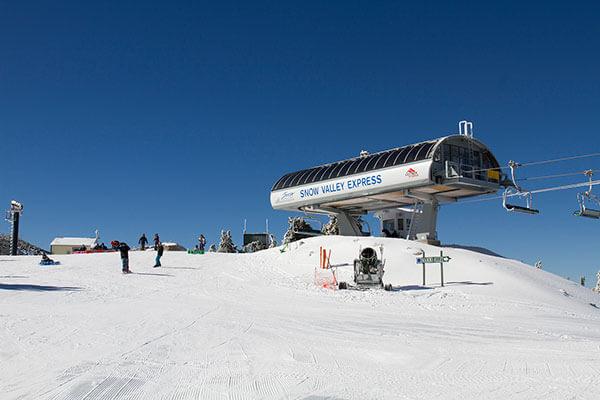 Snow Valley express lift