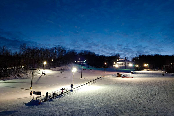 Titus Mountain - night skiing