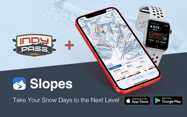 Slopes Tracking App x Indy Pass